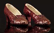#4- Original Ruby Slippers from the Wizard of Oz $612,000