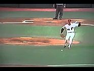 Philadelphia Phillies' Mike Schmidt Great Play To Throw Out Runner!