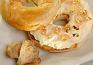The Most Expensive Bagel - $1,000