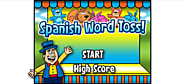 Spanish Word Toss