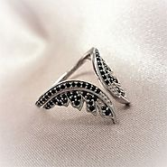 Lindas Stars I Wish Upon A Star Angel Ring