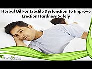 Herbal Oil For Erectile Dysfunction To Improve Erection Hardness Safely