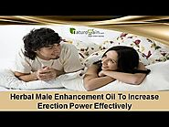 Herbal Male Enhancement Oil To Increase Erection Power Effectively