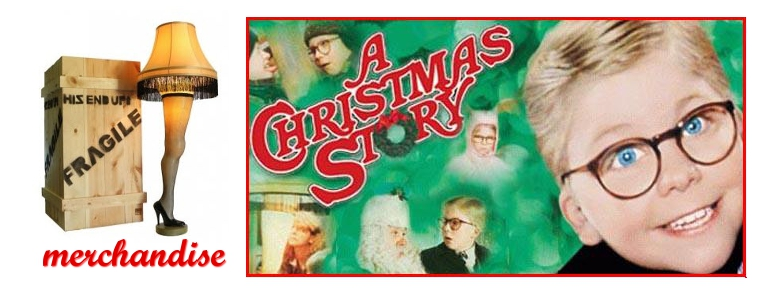 Headline for A Christmas Story Merchandise