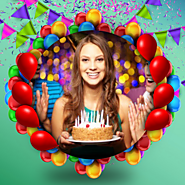 Birthday Photo Frames App On iPhone