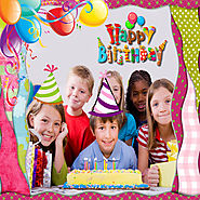 Happy Birthday Photo Frames iPhone App Free Download