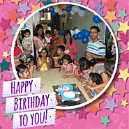 Create beautiful birthday frame