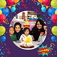 Using this app you can create beautiful birthday frames.