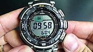 Casio Men's PAG240T 7CR Watch
