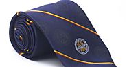 Profess Elite Identity with Online Logo Neckties