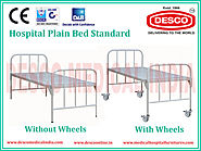 Website at http://www.medicalhospitalfurnitures.com/Product/plain-hospital-bed-manufacturer/hospital-plain-bed-standa...
