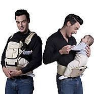 ECOSUSI Polyester Baby Carrier Infant Comfort Kid's Waist Stool Backpacks Carrier Belt Hip Seat