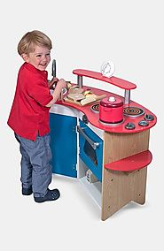 'Cook's Corner' Wooden Play Kitchen