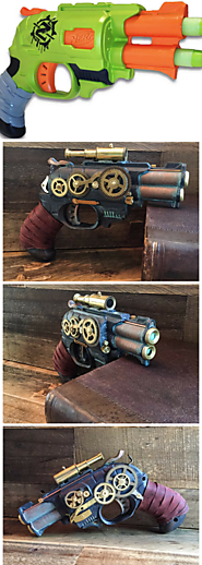 Steampunk Nerf Gun of Awesomeness