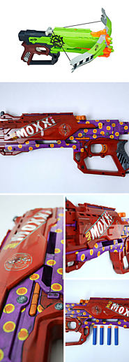 Borderlands Inspired Nerf Zombie Strike Crossfire