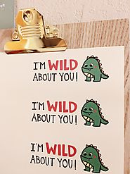 Duly Noted Designs | I'm Wild About You Valentine's Printable - Duly Noted, ink.