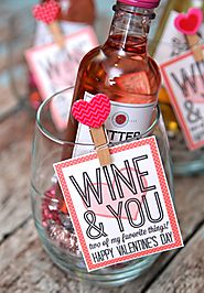 Wine and You - Two of My Favorite Things! - Happy-Go-Lucky