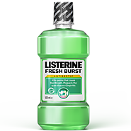 LISTERINE® Fresh Burst | Mouthwash for Gingivitis