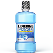 LISTERINE® Advanced Tartar Control | Teeth Whitening Mouthwash