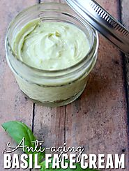 Homemade Anti-Aging Basil Face Cream - Happy Mothering