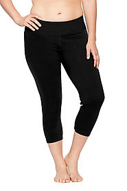 Buy Plus Size Skinny Capri with Compression Online