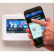 First Alert THERM-500 Onelink Wi-Fi Touchscreen Smart Thermostat, Works with Alexa