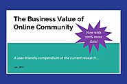 Show the Value of Online Community with this Research Roundup