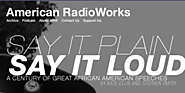 American RadioWorks - Say it Plain, Say it Loud