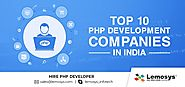 2018 Best PHP Development Companies in India