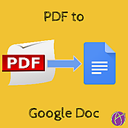 Convert Your PDF's to Google Docs - Teacher Tech