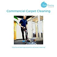 Commercial carpet cleaning in Edinburgh & Glasgow
