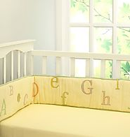 Shop the Abcs with Gizzie Cot Bumper - Little West Street