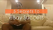 5 Secrets To Starting A Successful eBay Dropshipping Business