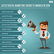 Latest Digital Marketing Trends to Embrace In 2016