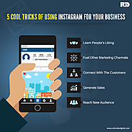 5 Cool Tricks of Using Instagram for Your Business - Redcube Digital Media Blog – News and Updates