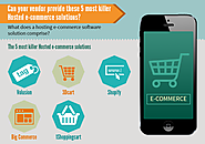 5 Most Killer Hosted E-Commerce Solutions : AltWeb Media