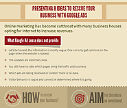 Presenting 8 Ideas to Rescue your Business with Google Ads: Alt Web Media