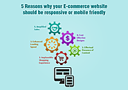 Top 5 Reasons Why Responsive E-commerce Websites Design