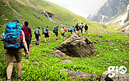 Trek to Hampta Pass - GIO Adventures