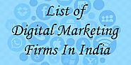 List of Digital Marketing Firms In India - Zerozilla Blog