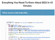 How to Make Your Website Source Code Optimized for SEO