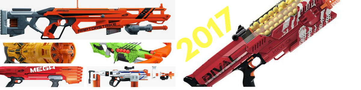 Headline for Best Rated Nerf Guns of 2017 (WITH PICTURES)
