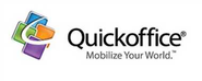 Quickoffice on android and ios phones