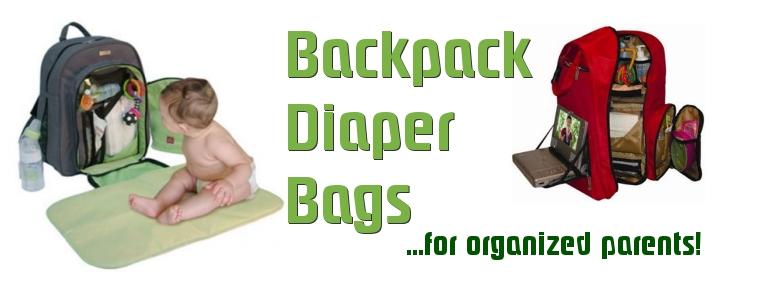 Headline for Diaper Backpack Bags