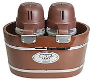 Nostalgia ICMW200DBL 4-Quart Electric Double Flavor Ice Cream Maker