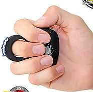 Streetwise Sting Ring 18 Million Stun Gun Discrete Protection