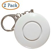 2 Pack 120dB Smart Emergency Personal Alarm Key Chain