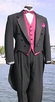Dashing Black Tailcoat For Sale