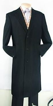 Buy Stylish Mens Long Overcoat From MensUSA