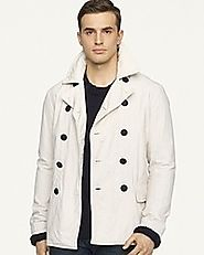 White Peacoat- Warm And Admirable